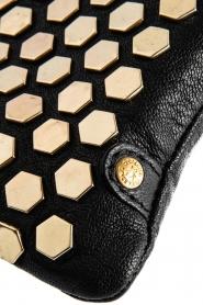 Depeche   Leather shoulder bag Amanda   black    Picture 5