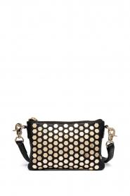 Depeche | Leather shoulder bag Amanda | black  | Picture 2