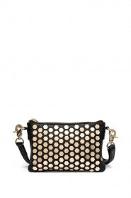 Depeche | Leather shoulder bag Amanda | black
