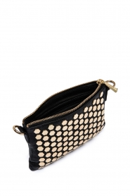 Depeche | Leather shoulder bag Amanda | black  | Picture 3