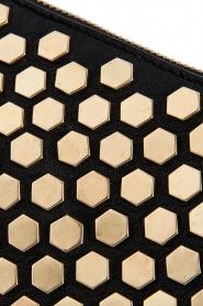 Depeche   Leather shoulder bag Amanda   black    Picture 4