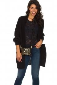 Depeche   Leather shoulder bag Amanda   black    Picture 2