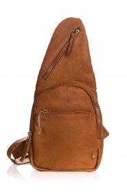 Depeche |  Leather shoulder bag Alessia | camel  | Picture 1