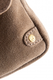 Depeche |  Suede clutch Isabelle | natural  | Picture 5