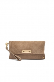 Depeche |  Suede clutch Isabelle | natural  | Picture 2
