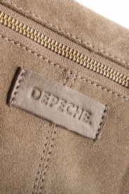 Depeche :  Suede clutch Isabelle | natural - img6