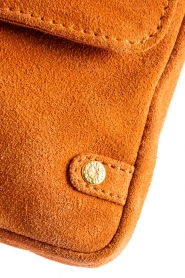 Depeche |  Suede clutch Isabella | orange  | Picture 5