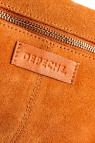 Depeche |  Suede clutch Isabella | orange  | Picture 6