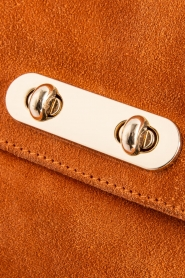 Depeche |  Suede clutch Isabella | orange  | Picture 4