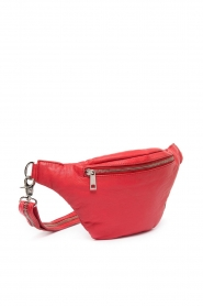Depeche |  Leather fanny pack Finou | red  | Picture 4