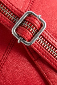Depeche |  Leather fanny pack Finou | red  | Picture 7