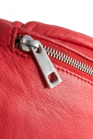 Depeche |  Leather fanny pack Finou | red  | Picture 5