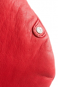 Depeche |  Leather fanny pack Finou | red  | Picture 6
