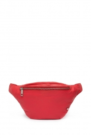 Depeche |  Leather fanny pack Finou | red  | Picture 1