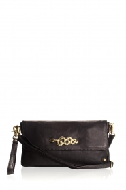 Depeche |  Schoulderbag with gold details Katherine | black  | Picture 2