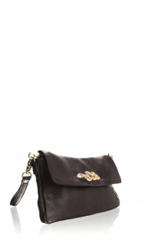 Depeche |  Schoulderbag with gold details Katherine | black  | Picture 3