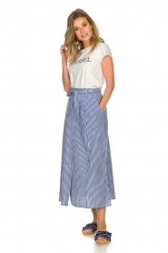 Set | Skirt with stripes Lola | blue   | Picture 3