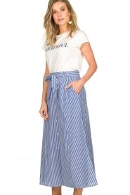 Set | Skirt with stripes Lola | blue   | Picture 4