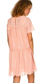 Fracomina |  Embroidery dress Tilda | pink  | Picture 5