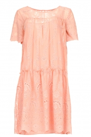 Fracomina |  Embroidery dress Tilda | pink  | Picture 1