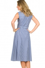 Set | Dress with stripes Isabella | blue   | Picture 6