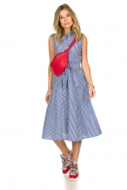 Set | Dress with stripes Isabella | blue   | Picture 3