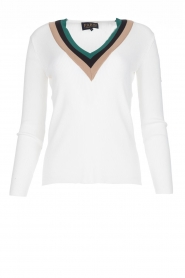 Par 69 | Long-sleeve top Belle | white  | Picture 1