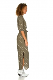 Dante 6 | Maxi-dress with dots Maeve | green  | Picture 4