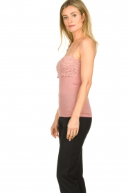 Hanro |  Cami with lace Moments | pink  | Picture 3