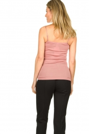 Hanro |  Cami with lace Moments | pink  | Picture 4