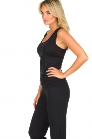 Hanro |  Tank top Yoga | black  | Picture 4