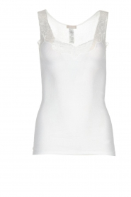 Hanro | Sleeveless top Lace Delight | white  | Picture 1