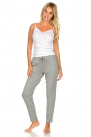 Hanro    Sweatpants Balance   grey    Picture 3