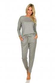 Hanro |  Sweatpants Balance | grey  | Picture 3