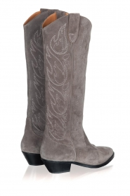 Catarina Martins |  Suede western boots Aba | grey  | Picture 4