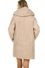 STUDIO AR BY ARMA |  Lammy coat Babina | beige  | Picture 6