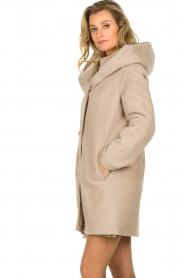 STUDIO AR BY ARMA |  Lammy coat Babina | beige  | Picture 7