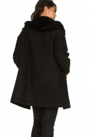 STUDIO AR BY ARMA | Lammy coat Babina | black  | Picture 5