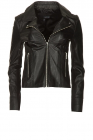 STUDIO AR BY ARMA | Leather jacket Kendall | black  | Picture 1