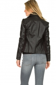 STUDIO AR BY ARMA | Leather jacket Kendall | black  | Picture 5