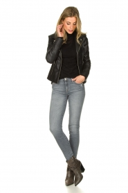 STUDIO AR BY ARMA | Leather jacket Kendall | black  | Picture 3