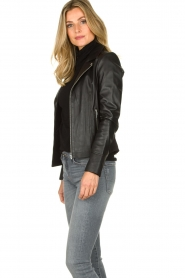STUDIO AR BY ARMA | Leather jacket Kendall | black  | Picture 4