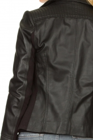 STUDIO AR BY ARMA | Leather jacket Kendall | black  | Picture 6