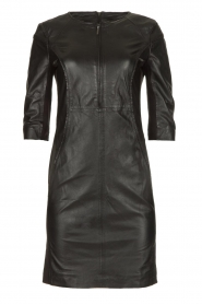 STUDIO AR BY ARMA | Leather dress Anniko | black  | Picture 1