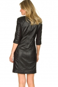 STUDIO AR BY ARMA | Leather dress Anniko | black  | Picture 6