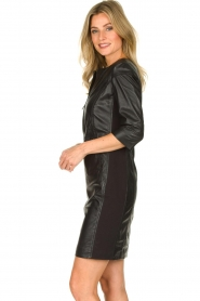STUDIO AR BY ARMA | Leather dress Anniko | black  | Picture 5