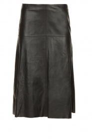 STUDIO AR BY ARMA | Leather skirt Fairchild | black  | Picture 1