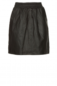 STUDIO AR BY ARMA | Leather skirt Myrte | black  | Picture 1