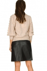 STUDIO AR BY ARMA | Leather skirt Myrte | black  | Picture 5