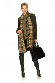STUDIO AR BY ARMA |  Wrap coat Secillia | olive green  | Picture 3